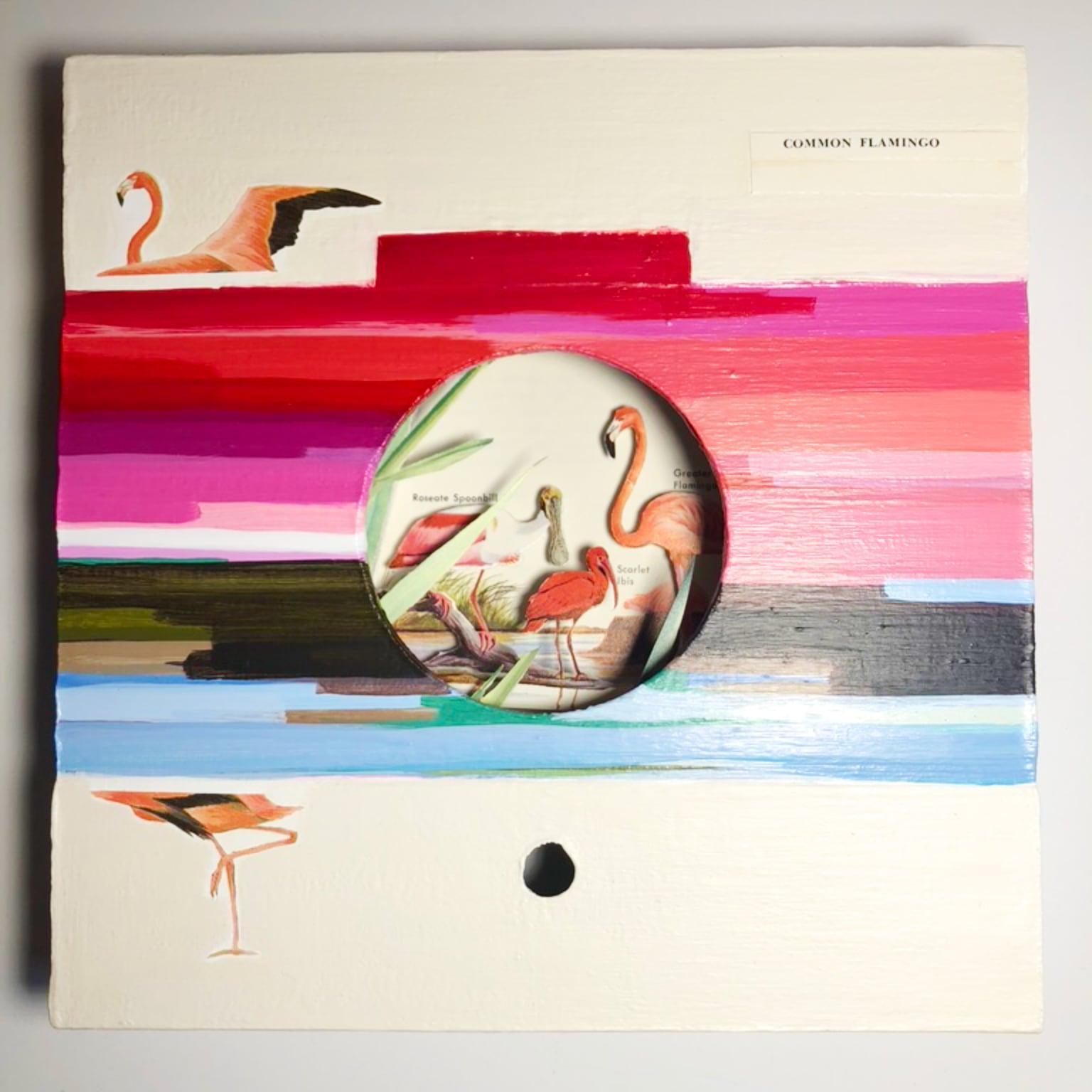 Flamingo whole art pc